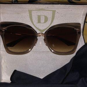 Dita Cat-Eye Sunglasses.